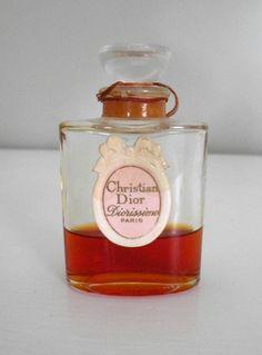 """""""Diorissimo"""" by Christian Dior (1956). Perfume notes include amaryllis, boronia, jasmine, muguet, & ylang-ylang."""