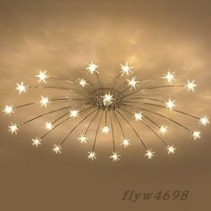 Modern Meteor Glass Dandelion LED Chandelier Pendant Lamp Ceiling Lighting Light 1 X Ceiling Lamp. after you have paid. Local pick up is not available. Weight: 4000 g. Deco Led, Ceiling Chandelier, Ceiling Lighting, Modern Ceiling Lights, Roof Ceiling, Silver Chandelier, Iron Chandeliers, Lighting Sale, Lumiere Led
