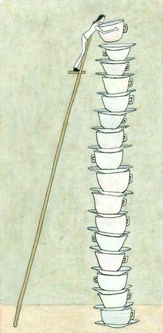 El equilibrio del té