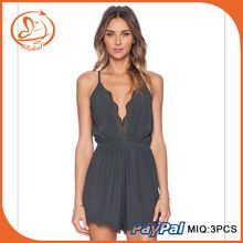 f2405168aead Rompers Women Jumpsuit Fashion Summer Style V Sexy Bodycon Slim Pants  Bodysuit Back Cross Strapless Macacao
