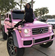 Mercedes Auto, Mercedes G Wagon, Mercedes Maybach, Maserati, Bugatti, Pretty Cars, Pretty In Pink, Lux Cars, Pink Cars