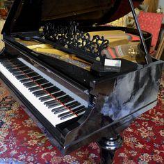 Pianoforte, Piano 3/4 tail, Piano 3/4 de Queue, 1882 Ernst Eugen Kaps