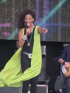 Sister Sledge @ Rewind Festival South, Henley-on-Thames, August 2014