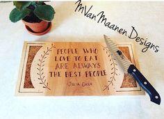 Bamboo Cutting Board, Good People, Facebook, Eat, Design