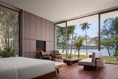 Located in Koh Russey, Alila Villas Koh Russey offers a private beach area. Outdoor Living Areas, Outdoor Dining, Dining Area, Keys Hotel, Iron Balcony, Parquet Flooring, Holiday Destinations, Hotels And Resorts, Cambodia
