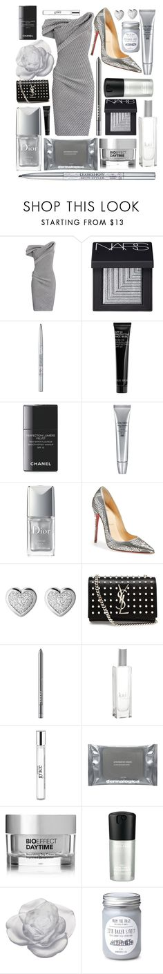 """Outfit 22"" by wonderlandoutfits ❤ liked on Polyvore featuring Maticevski, NARS Cosmetics, Christian Dior, Bobbi Brown Cosmetics, Chanel, Shiseido, Christian Louboutin, Links of London, Yves Saint Laurent and LORAC"