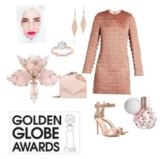 """""""Untitled #65"""" by aufarahma on Polyvore featuring Raey, Gianvito Rossi, RALPH & RUSSO, Tiffany & Co. and goldenglobe"""