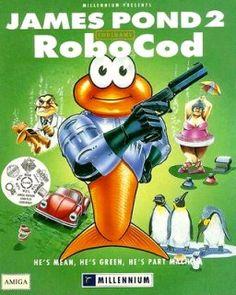 James Pond II: Codename Robocod - Intro Theme [Amiga] (by Richard Joseph) Games Box, Old Games, Amiga Forever, Mega Drive Games, Pc Engine, Video Game Music, Game Google, Vintage Games, Arcade Games
