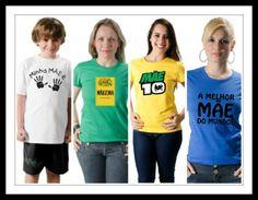 Opções de Camisetas para o dia das Mães : Opções de Camisetas para o dia das Mães, que tal homenageá-la? Acesse=>> http://www.camisetasdahora.com/ | camisetasdahora