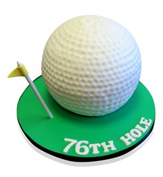 Golf Ball Cake Golf lovers will be amazed at this creation! This fabulous cake was ordered for an occasion held at MDC Partners, 745 5th Avenue, New York, which catered for 15 people. The order was for a golf ball cake and we were totally excited to see what our innovative cake artists would come up with! The filling was a delicious combination of vanilla and vanilla meringue butter cream. http://cmnycakes.com/gallery2/v/Cakes+For+All+Occasions/Golf+Ball+Cake.html?