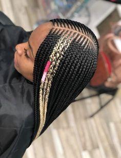 Box Braids Hairstyles - These Are The Hottest Ideas for 2019 - Style My Hairs Box Braids Hairstyles, Braided Hairstyles For Black Women, Braids Wig, My Hairstyle, Ghana Braids, Protective Hairstyles, Hairstyle Ideas, Stich Braids, Nigerian Braids