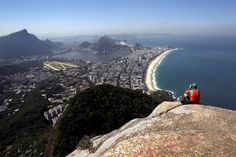 Vistas incríveis do Rio