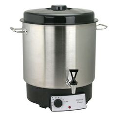Electric Waterbath Canner with Spigot