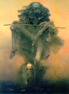 One of my all time favorite fine art artists, the late zdzislaw beksinski