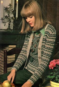 The 1970s-1974 Jours de France-Winter fashion by april-mo, via Flickr