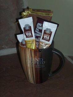 Starbucks Coffee Cup Gift Basket