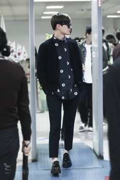 141019- EXO Suho Gimpo Airport to Gimhae Airport