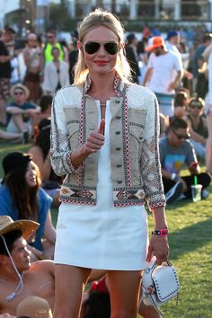 This week our holiday type is Festival! Whether it's Glastonbury, Secret Garden Party, Bestival or another of the many festivals this summer, make a statement and embrace the colours with bright and electric eyewear. Kate Bosworth - 2015 Celebrity Photos -  a Coachella Music Festival Day 2 Empire Polo Grounds Indio