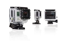 Record the action on the slopes with the Go Pro Hero3 Camera White Edition!