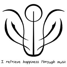 """Anonymous said: Hey. I was wondering if you could make a sigil that means """"I retrieve happiness through music""""? I want something to put on my radio/ music box. Answer: """"I retrieve happiness through. Witchcraft Spell Books, Wiccan Spell Book, Wiccan Spells, Wiccan Witch, Sigil Magic, Magic Symbols, Symbols And Meanings, Norse Runes, Viking Symbols"""