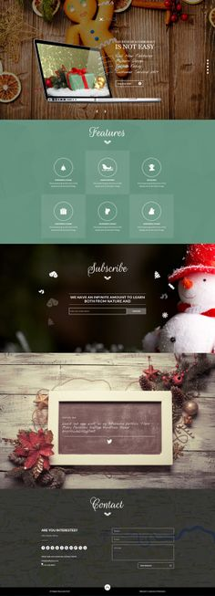 xLand - Exclusive Christmas / New Year Package by Zizaza - design ocean , via Behance