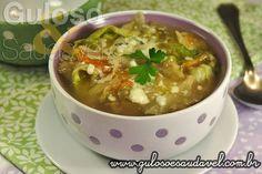 Para o #jantar uma deliciosa Sopa de Alface, é simples, tem baixo teor de calorias e possui fibras!  #Receita aqui: http://www.gulosoesaudavel.com.br/2013/01/07/sopa-alface/