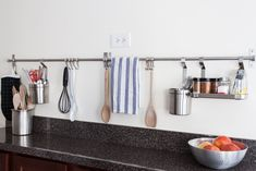 7 Smart Kitchens Organized With IKEA GRUNDTAL Rails