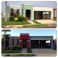 Violeta fachadas de casas pinterest casas fachadas for Casas modernas terreras