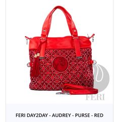 Red is the colour of extravagance
