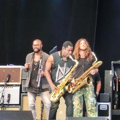 August 3 2015 Lenny Kravitz at Gröna Lund Stockholm Sweden.