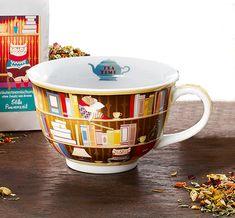 Óriás tanulós könyves teáscsésze Tea Time, Mugs, Tableware, Gourmet, Dinnerware, Tumblers, Tablewares, Mug, Dishes