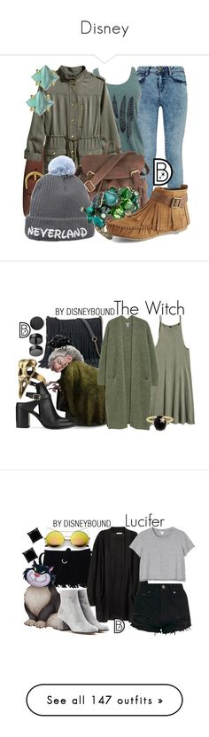 """Disney"" by black-prism ❤ liked on Polyvore featuring American Apparel, FOSSIL, H&M, Disney, Konplott, Vince Camuto, Bling Jewelry, SONOMA Goods for Life, Miss Selfridge and Andrea Fohrman"