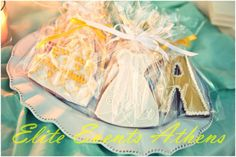 TRUE WEDDINGS | A Lemon Wedding by Elite Events Athens| Anca & Konstantinos | Wedding Tales - Ο γάμος των ονείρων σας! Coconut Flakes, Spices, Cupcakes, Sweet, Wedding, Candy, Valentines Day Weddings, Spice, Cupcake Cakes