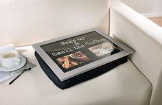 Schootkussen laptray Wake-up met mogelijkheid voor 2 eigen foto's - 4007299366004 - Avantius