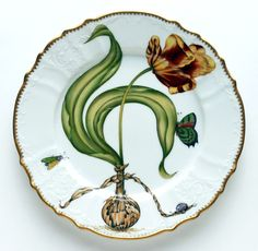 Anna Weatherley Flowers of Yesterday Dinner plate AW33