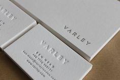 Varley business cards