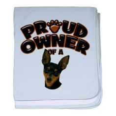Proud owner of a miniature pinscher ... or should I say proudly owned BY a miniature pinscher?  lol!!