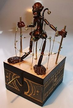 Automata from Cabaret Mechanical Theatre - Museum of Automata (mechanical sculpture), UK based