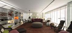Living room - casa-cubo
