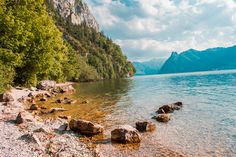 #Traunsee #Austria Mountains, Water, Photography, Travel, Outdoor, Viajes, Gripe Water, Outdoors, Photograph