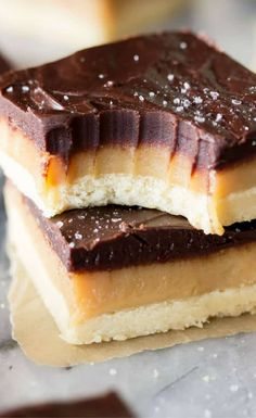 This Millionaire's Shortbread is the perfect trifecta: Sweet simple, crisp shortbread, rich chewy, homemade caramel, and thick dark chocolate ganache. Sprinkle everything off with a scattering of sea salt and you have a decadently rich treatthat lives up to every penny of its lucrative name.