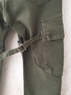 Helmut  Lang OG bondage cargo jeans Size US 30 / EU 46 - 2