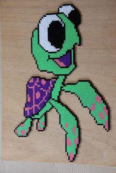 Squiz Nemo hama beads by perleshama30
