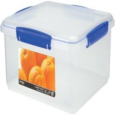Sistema Storage Rectangular Container, 5Ltr 18018500 by Sistema. $18.00. Rectangular Container, 5LtrRectangular, stackable sealed storage container - a perfect storage solution for your home. Part of the Sistema range of handy stackable storage containers are great for storing all kinds of wet and dry ingredients in the kitchen and around the home. They are freezer, microwave and dishwasher safe. The blue clips hold the lid securely in place and create a tight ...