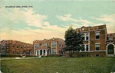 Akron Ohio OH 1914 Orphan Children's Home Collectible Antique Vintage Postcard
