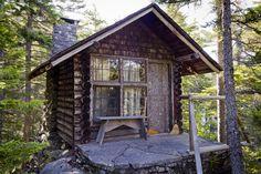 Caretaker's Cabin on Borestone Mountain, Maine