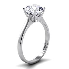Danhov Classico Single Shank moissanite engagement ring has around moissanite in a solitaire engagement ring with approximately 8 grams of yellow, white gold or palladium. Single Diamond Ring, Diamond Solitaire Rings, Unique Diamond Engagement Rings, Designer Engagement Rings, Wedding Ring Bands, Ring Designs, Jewelry, Diamonds, Wedding Stuff