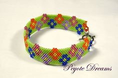 Free Beading Patterns | Get your FREE peyote pattern for this bracelet by e-mailing your ...