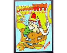 Un altro grande successo di #Jacovitti fu #DiarioVitt, una vera istituzione per gli alunni degli anni 60