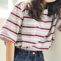 Free ship striped tee 2019 FREE SHIP STRIPED TEE kokopiecoco The post Free ship striped tee 2019 appeared first on Vintage ideas. Source by outfits Indie Outfits, Retro Outfits, Cute Casual Outfits, Outfits For Teens, Cute Vintage Outfits, Summer Outfits, Sunday Outfits, Holiday Outfits, Look Fashion